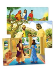 2014 VBS Workshop of Wonders: Imagine a Build with God - Bible Story Poster Set