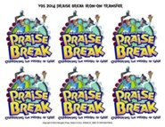 VBS 2014 Praise Break: Celebrating the Works of God! - Pack of 12 Iron-On Transfers