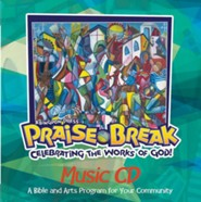 VBS 2014 Praise Break: Celebrating the Works of God! - Music CD