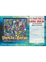 VBS 2014 Praise Break: Celebrating the Works of God! - Outdoor Banner