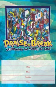 VBS 2014 Praise Break: Celebrating the Works of God! - Promo Poster