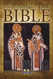 The Fathers of the Church Bible: Nabre, Paper, Tan