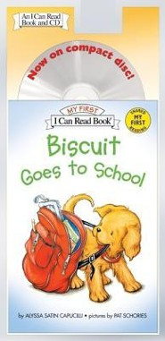 Biscuit Goes to School [With CD]  -     By: Alyssa Satin Capucilli     Illustrated By: Pat Schories