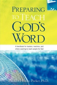 Preparing to Teach God's Word