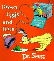 Green Eggs & Ham [With Stickers]  -     By: Dr. Seuss     Illustrated By: Aristides Ruiz