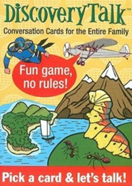 DiscoveryTalk conversation cards: Conversation Cards for the Entire Family