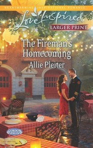 The Fireman's Homecoming - Large Print Edition