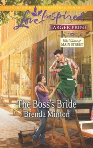 The Boss's Bride - Large Print Edition