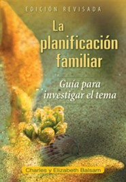 La planificaci&#243n familiar, Family Planning