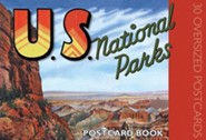U.S. National Parks Postcard Book: 30 Oversized Postcards