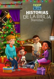 Deep Blue Historias de la Biblia Navidad: Deep Blue Bible Storybook Christmas, Spanish Edition