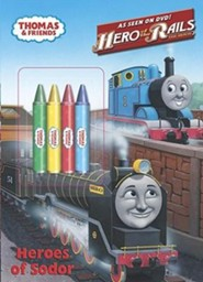 Heroes of Sodor [With 4 Crayons]  -     By: Britt Allcroft     Illustrated By: Jim Durk