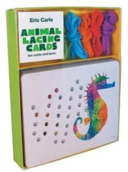 Eric Carle Animal Lacing Cards: Ten Cards and Laces  -     By: Eric Carle