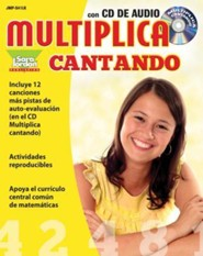 Multiplica Cantando [With CD (Audio)]  -     By: Gisem Suarez