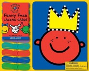 Todd Parr Funny Face Lacing Cards