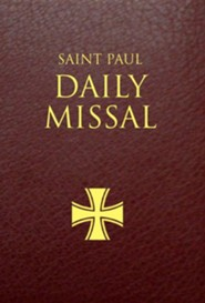 Saint Paul Daily Missal: Leatherflex Burgundy