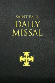 Saint Paul Daily Missal: Black LeatherflexBlack Leatherfl Edition