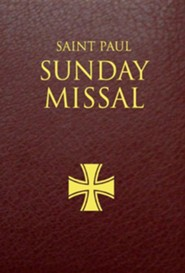 Saint Paul Sunday Missal: Burgundy LeatherflexBurgundy Leathe Edition