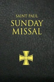Saint Paul Sunday Missal: Leatherflex Black