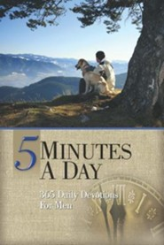 5 Minutes a Day: 365 Daily Devotions for Men  -     By: & Freeman-Smith