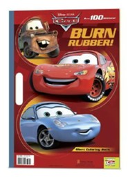 Pixar Cars Burn Rubber! [With 100+ Stickers]