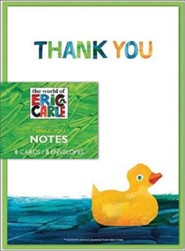 Eric Carle Shower Thank-You Notes