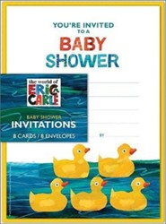 Eric Carle Shower Invites Cards