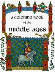 Middle Ages-Coloring Book