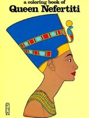 Queen Nefertiti-Coloring Book