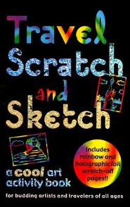 Travel Scratch and Sketch: A Cool Art Activity Book for Budding Artists and Travelers of All Ages