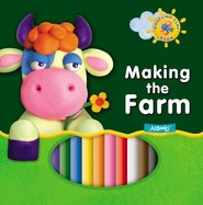 Making the Farm [With 10 Peices Modeling Clay]