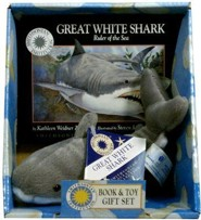 Great White Shark: Ruler of the Sea [With Plush Great White Shark]