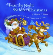 Twas the Night Before Christmas  -     By: Clement C. Moore     Illustrated By: Elena Almazova, Vitaly Shvarov