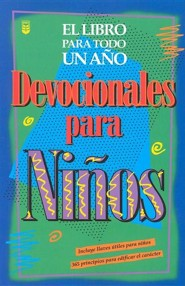 Devocionales de ni&#241os para todo un a&#241o, One Year Book Of Devotions For Kids  - 