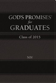 NIV God's Promises for Graduates: Class of 2015, Black