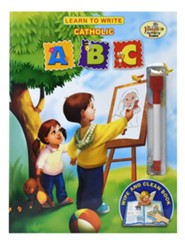 Learn to Write A, B, C: Wipe & Clean Activity Book