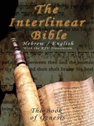 Interlinear Bible; The Book of Genesis-Hebrew/English/KJV, Paper