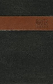 Biblia de Promesas NTV, Piel Especial, Negro/Café  (NTV Promise Bible, Imitation Leather, Black/Coffee)