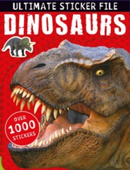 Ultimate Sticker File: Dinosaurs