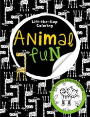 Big Busy Coloring Lift the Flap: Animal Fun