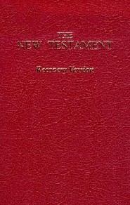 Recovery New Testament-OE-Economy Size, Paper, Burgundy