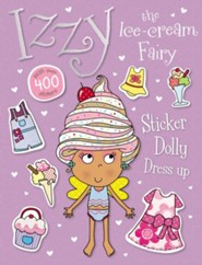 Izzy the Ice Cream Fairy Sticker Dolly Dress Up