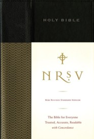 NRSV Standard Bible, Cloth, Black - Slightly Imperfect