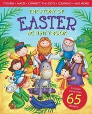 The Story Of Easter Activity Book  -     By: Ideals Editors, Lisa Reed(Illustrator) & Lisa Wallace(Illustrator)     Illustrated By: Lisa Reed, Lisa Wallace