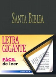 Letra Gigante Santa Biblia-RV 1960, Imitation Leather, Black  -     By: American Bible Society