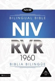 RVR 1960/NIV Biblia bilingue con Indice, Leather-Look