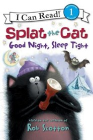 Splat the Cat: Good Night, Sleep Tight  -     By: Natalie Engel     Illustrated By: Rob Scotton