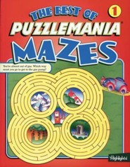 Best Puzzlemania Mazes #1   -     By: Jeffrey A. O'Hare