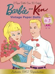 Barbie and Ken Vintage Paper Dolls (Barbie)