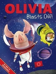 Olivia Blasts Off! [With Sticker(s)]  -     